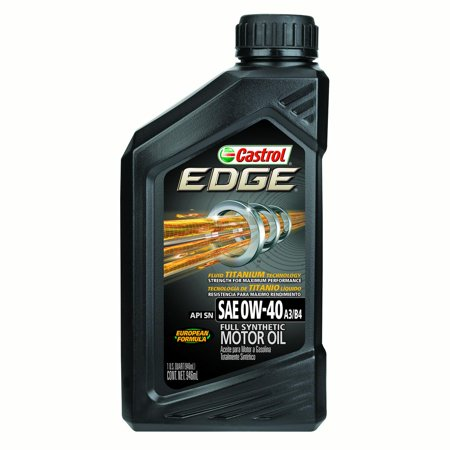 castrol edge 0w 40 a3 b4 full synthetic motor oil 1 qt. Black Bedroom Furniture Sets. Home Design Ideas