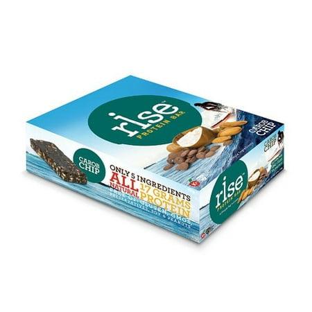 Rise Foods Protein Bar, Crunchy Carob Chip, 2.1 Oz
