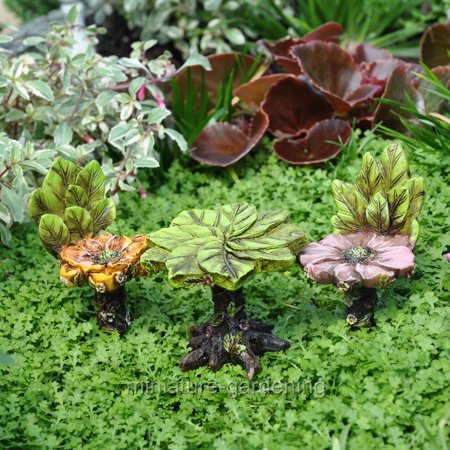 wholesale fairy gardens blossom bistro 3 piece set for miniature garden fairy garden. Black Bedroom Furniture Sets. Home Design Ideas
