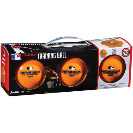 Franklin Sports MLB 12.5 oz Home Run Training Ball 3-Pack