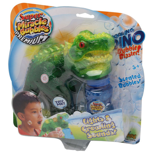 Imperial Toy Roaring Dino Bubble Blaster