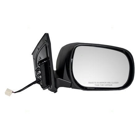- Passengers Power Side View Mirror Non Heated w/o Signal Replacement fits 06-08 Toyota RAV4 8791042870