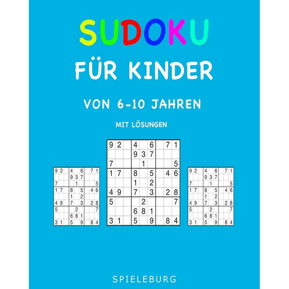 sudoku für kinder von 610 jahren mit lösungen 200
