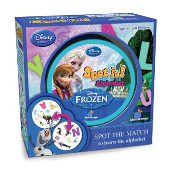 Disney's Frozen Spot It Kids Card Match Game