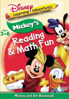 Mickey's Reading & Math Fun (DVD) by Walt Disney