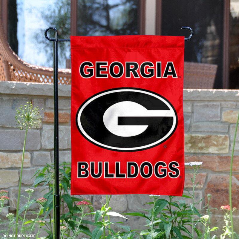 """Georgia Bulldogs 13"""" x 18"""" College Garden Flag"""