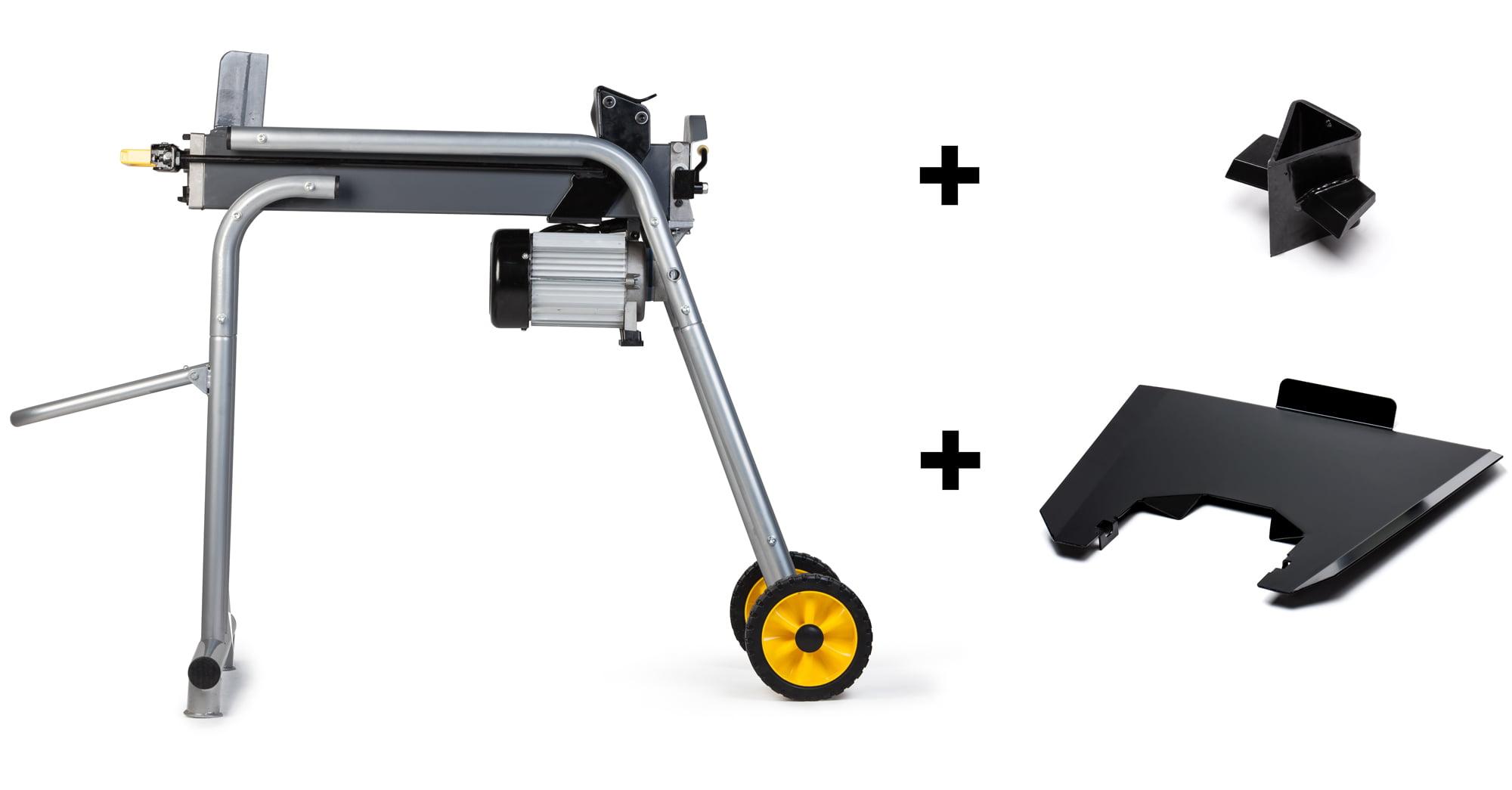 TR Industrial 89130 1800W Electric Log Splitter W Ergonomic Stand + Tray + 4-way Cross... by TR Industrial