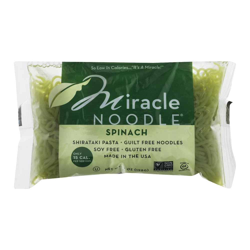 Miracle Noodle Spinach, 7.0 OZ
