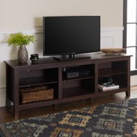 "70"" Wood TV Media Storage Stand for TV's up to 75"", Multiple Finishes"