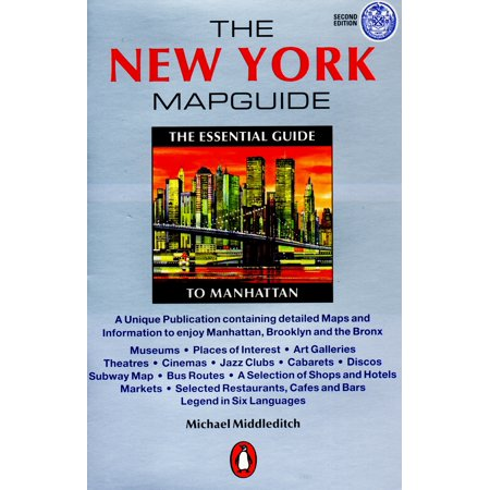 The New York Map Guide  The Essential Guide To Manhattan