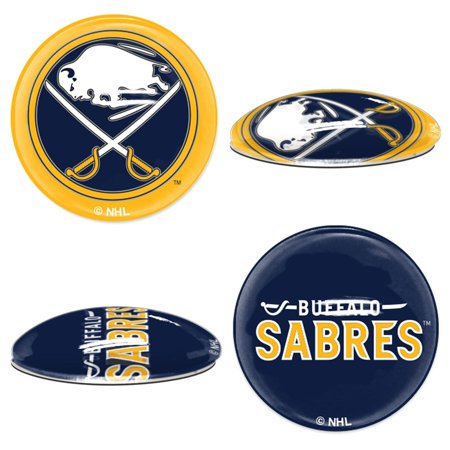 Buffalo Sabres Official NHL  Sport Dotts Magnet 2 Pack by Wincraft