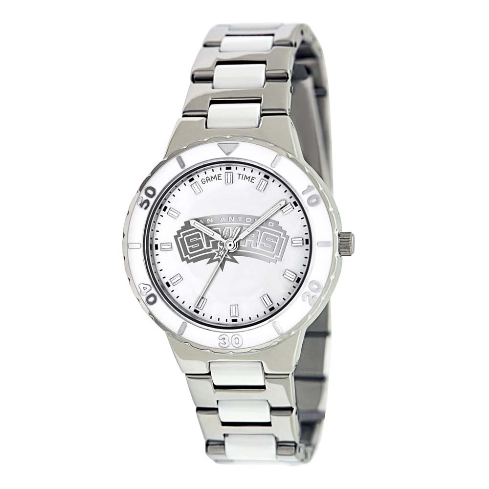 San Antonio Spurs Women's Pearl Watch