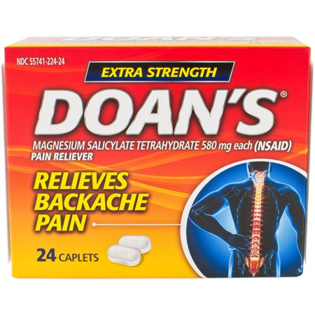 Doan's Extra Strength Pain Reliever Caplets - 24 (Best Muscle Relaxers For Anxiety)