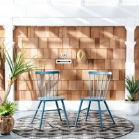 Chester Outdoor Side Chairs Navy