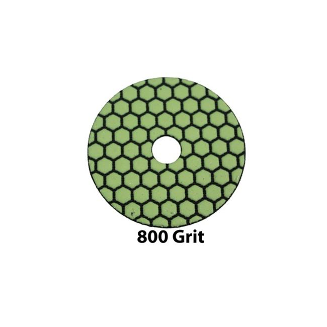 RTC Products GP4DRY800 4 in. Dry Diamond Pad, 800 Grit