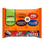Hershey's, All Time Greats Chocolate Candy Variety Pack, 15.9 Oz., 30 Count