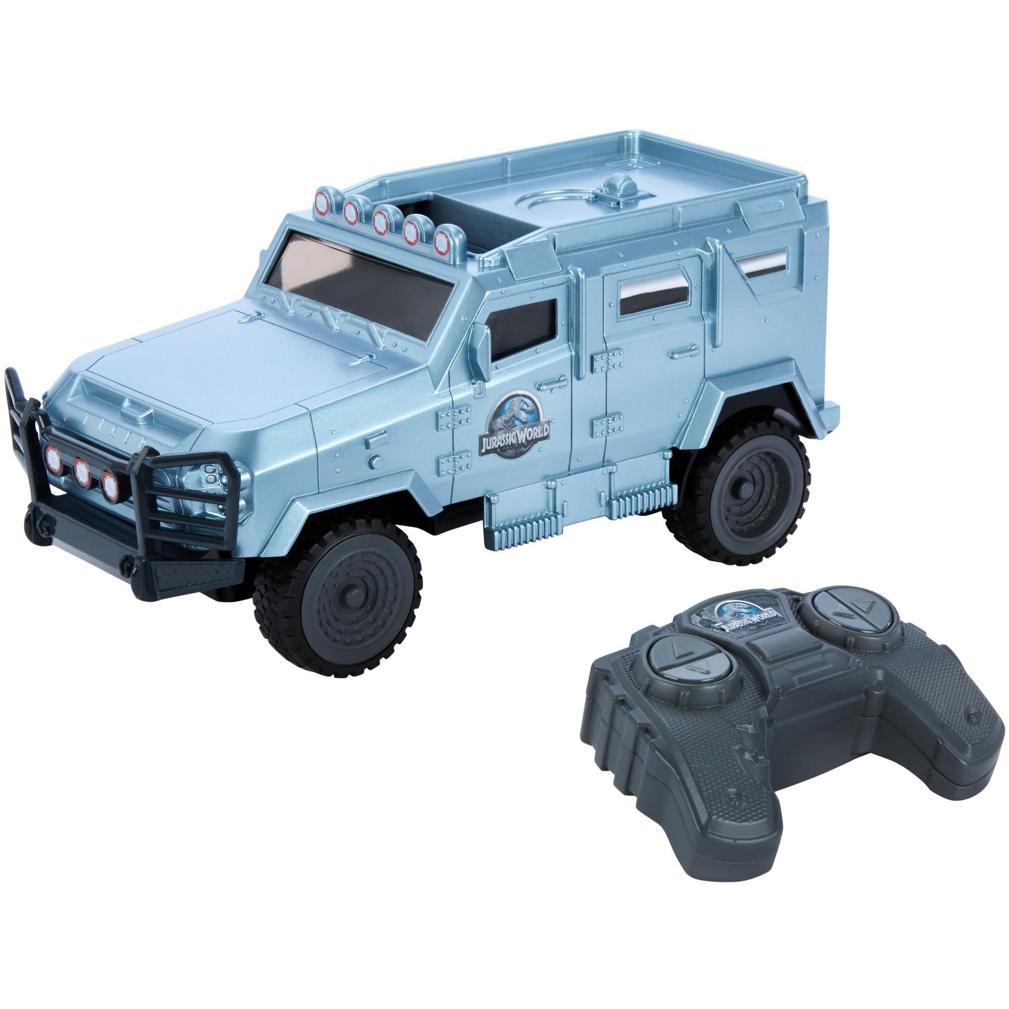 Matchbox Jurassic World MDT Tiger Light Protected RC Vehicle by Mattel