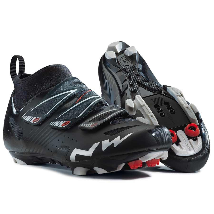 Northwave, Hammer Cx, MTB shoes, Men's, Matt Black, 41.5