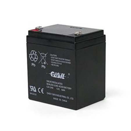 tyco bd412 12 volt 4ah alarm battery. Black Bedroom Furniture Sets. Home Design Ideas