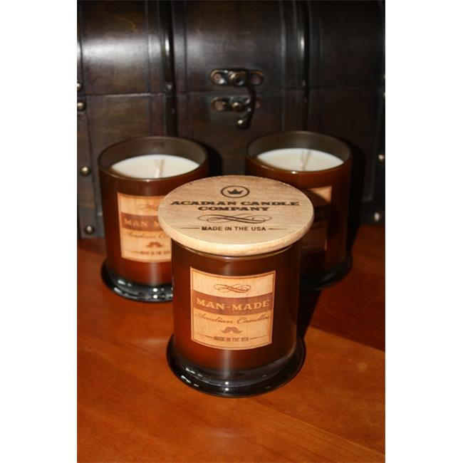 Acadian Candle 11356 Man-Made Candle, Fresh Shave