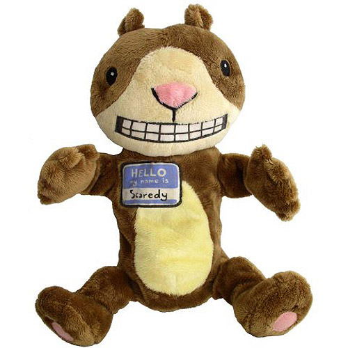 Scaredy Squirrel Puppet: 12""