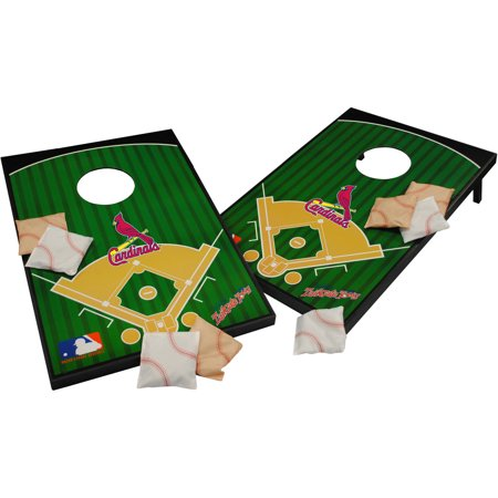 Wild Sports MLB St. Louis Cardinals 2x3 Field Tailgate Toss