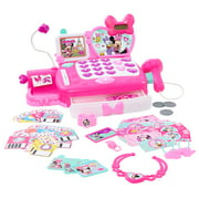 Minnie's Happy Helpers Shop N' Scan Talking Cash Register, Role Play, Ages 3 Up, by Just Play