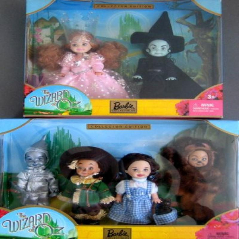 Mattel Kelly Doll as Glinda and The Wicked Witch of the W...