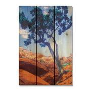 Day Dream HQ DT2836 28 x 36 in. Desert Tree Inside & Outside Cedar Wall Art