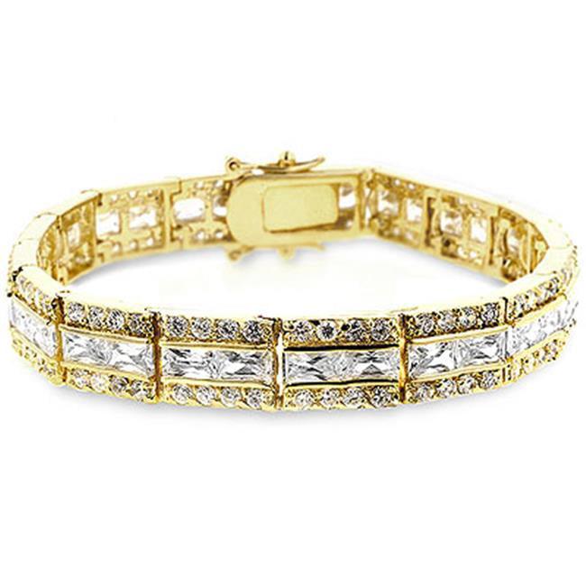 Kate Bissett B01171G-C01 Newport CZ Bracelet