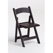 Max Resin Folding Chair with Padded Seat - Set of 4 (Flint Gray)