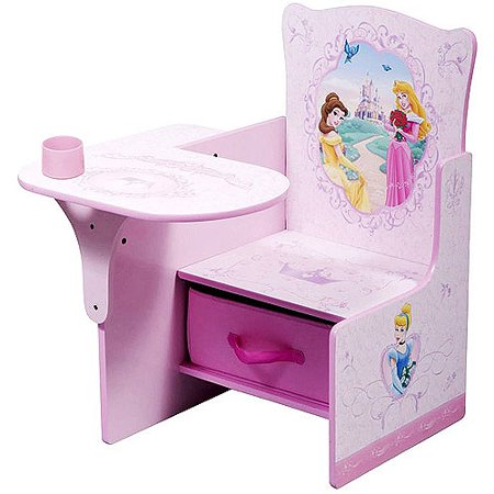 Disney Princess Desk Amp Chair With Storage Bin Walmart Com