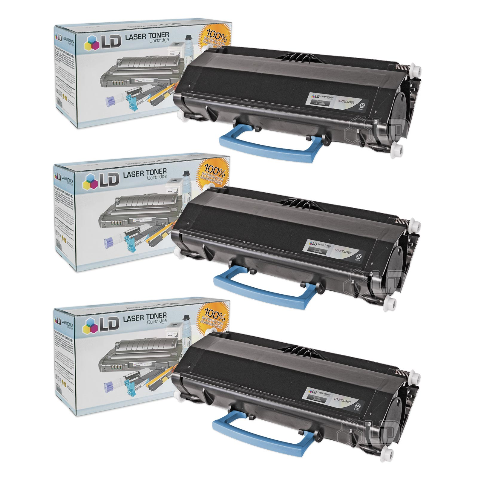 LD Compatible Dell 330-8985 (V99K8) High Yield Black Toner Cartridges for your Dell 3333dn/3335dn Printers