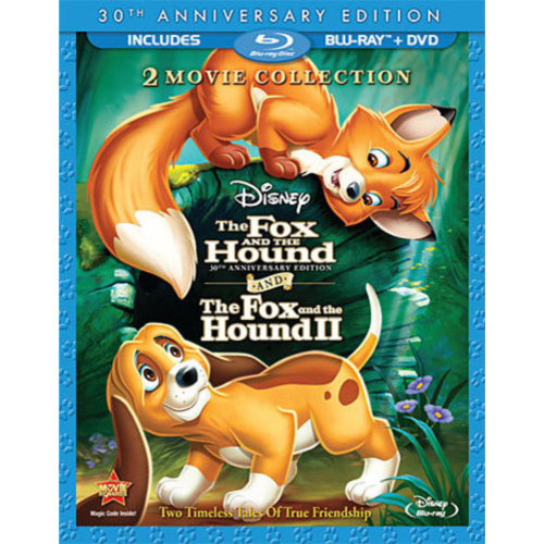 The Fox And The Hound / The Fox And The Hound II (30th Anniversary Edition) (Blu-ray + DVD))