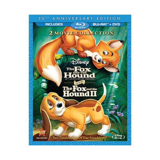 The Fox and the Hound / The Fox and the Hound 2 2-Movie Collection (Blu-ray + DVD)
