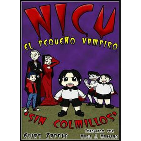 Nicu - el pequeño vampiro sin colmillos - eBook - Vampiros Para Halloween