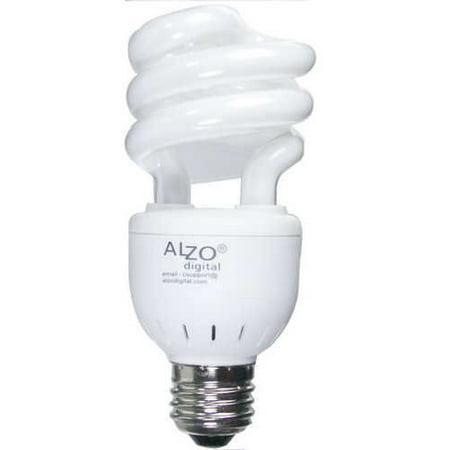 Alzo 15w Joyous Light Full Spectrum Cfl Light Bulb 5500k