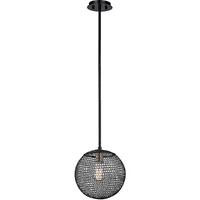 Pendants 1 Light With Kokoro Bronze Finish Hand-Worked Iron Material Medium 11 inch Long 60 Watts