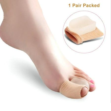 New Hallux Valgus Separator Orthoses Corn Toes Corrector Big Toe Sleeve Toe Separator Bunion Adjuster Feet Care](Big Feet Man)