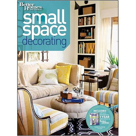 Small Space Decorating (Better Homes and Gardens) (Decorating A Small Studio Apartment On A Budget)
