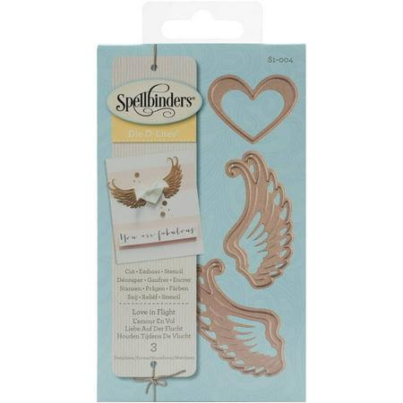 Spellbinders Shapeabilities Die D-Lites, Love In