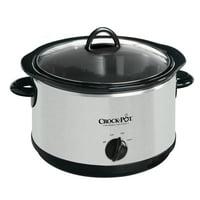 Crock-Pot The Original Slow Cooker, 5-Quart, Stainless Steel (SCR500-SP)