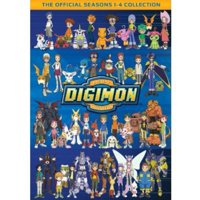 Digimon Collection Seasons 1-4 (DVD)