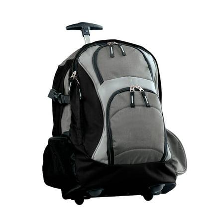 Wheeled Backpack - Dark Grey/Black ()