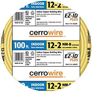 Cerro Wire 147-1602-CR 100-Foot 2-Conductor NMB Wire