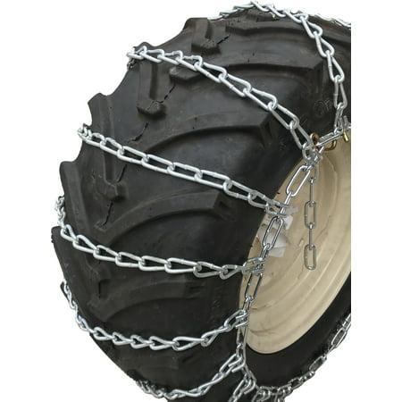 Snow Chains 4.80 x 8, 4.80  8 Medium DutyTractor Tire Chains Set of
