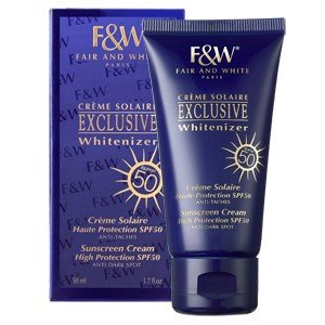 Fair & White SUNSCREEN CREAM HIGH PROTECTION