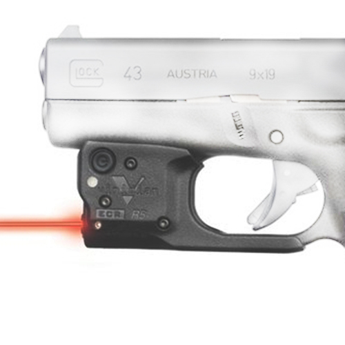 Reactor 5 RedLaser for Glock43 w/ECR/Hlst