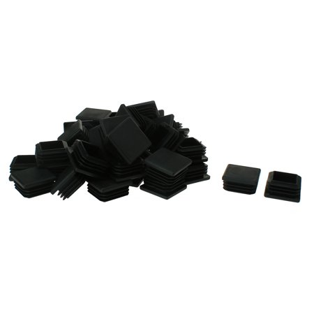 "Square Tube Insert Furniture Floor Protector for 1.26"" to 1.34"" Inner Size 40pcs - image 7 of 7"