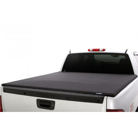 Lund 04-14 Ford F-150 (6.5ft. Bed Flareside) Genesis Elite Snap Tonneau Cover - Black